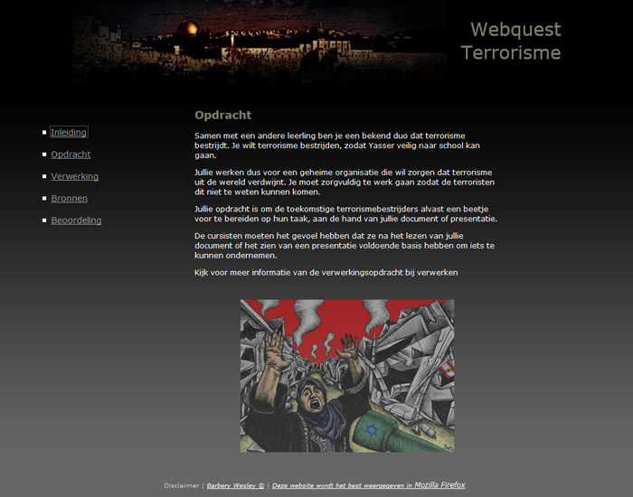 webquest printscreen